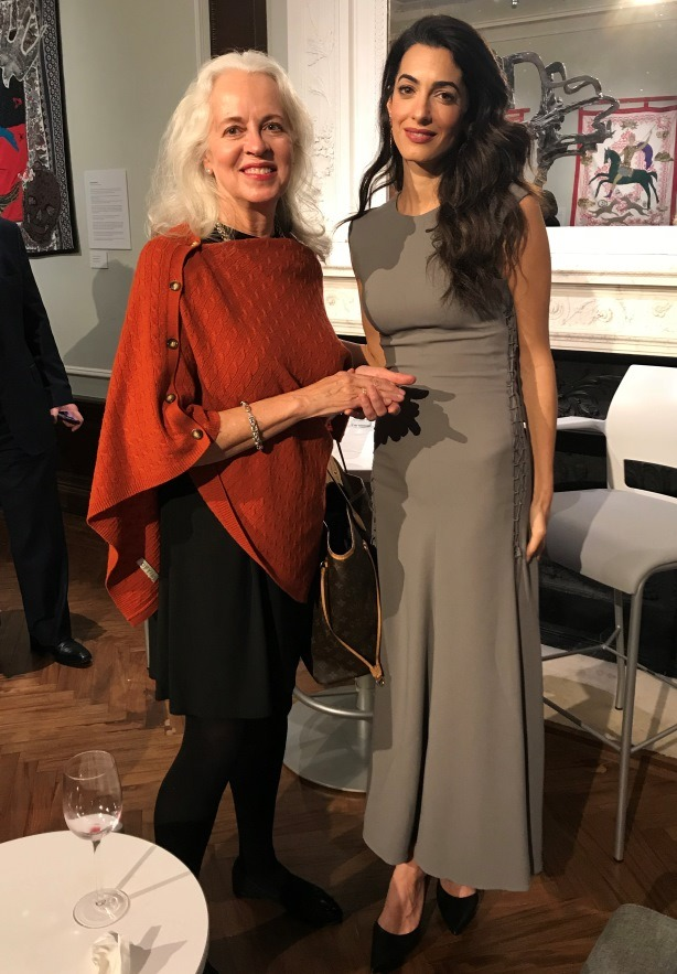 Amal Clooney, barrister specializing in international law