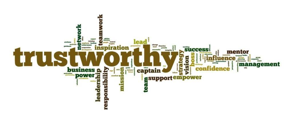 Trustworthy Word Map